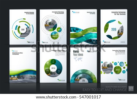 Business Vector Brochure Template Layout Cover Stock Photo Photo