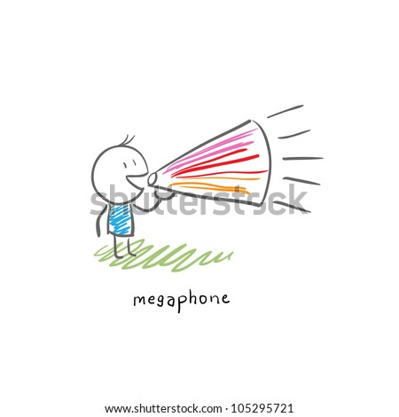 Businessman chooses between two currencies, the Euro and Dollar. Business illustration - stock vector