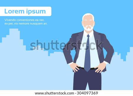 Business Owners Clipart Senior Boss Business Owner