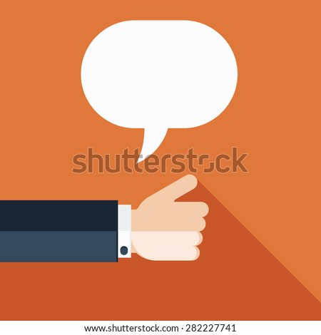Businessman Showing Thumb Up - stock vector