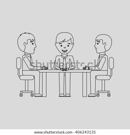 businesspeople concept design