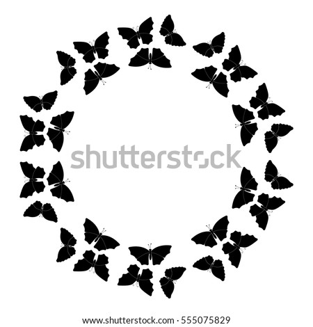 Butterfly Border Stock Images, Royalty-Free Images & Vectors ...