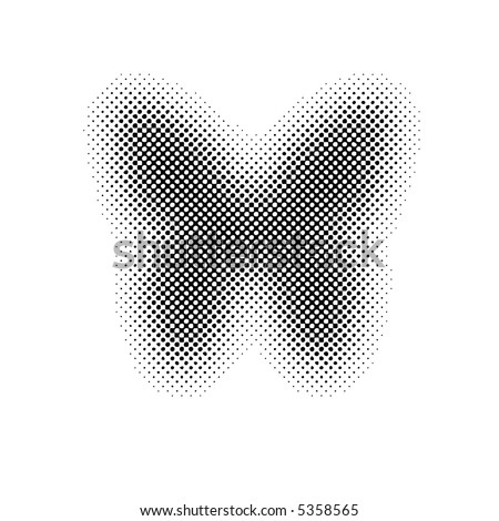 butterfly (halftone)