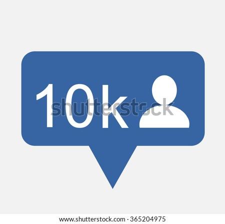 Button Follow ,Follow Icon Vector,Follow Icon JPG,Follow Icon JPEG, Follow Icon EPS,Follow Icon design.Vector illustration eps 10 - stock vector