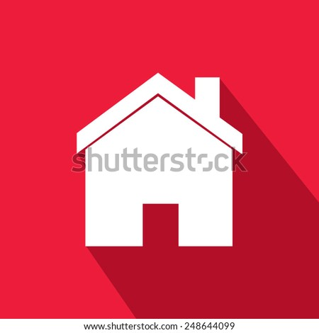 Button-Icon: red. Vector Illustration. Eps 10  - stock vector
