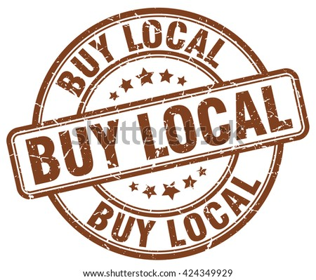 buy local brown grunge round vintage rubber stamp.buy local stamp.buy local round stamp.buy local grunge stamp.buy local.buy local vintage stamp. - stock vector