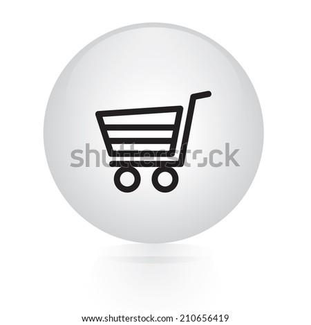buy now button web icon - stock vector