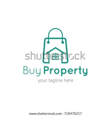 Buy Property Logo Template Stock Vector (2018) 718470217 - Shutterstock