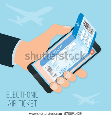electronic ticket and bus ticket reservation Bus & fly flight information  what is the electronic ticket number  i became my reservation number and e-ticket number.