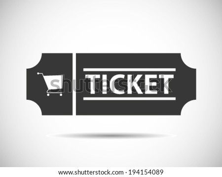 Buying Tickets - stock vector