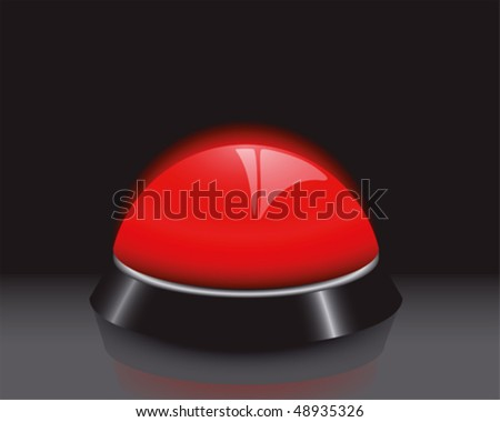 Buzzer - stock vector