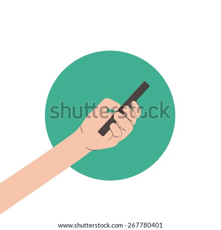 Byod design over white background, vector illustration