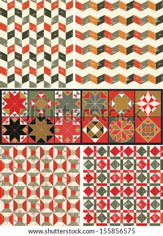 Byzantine pattern - stock vector
