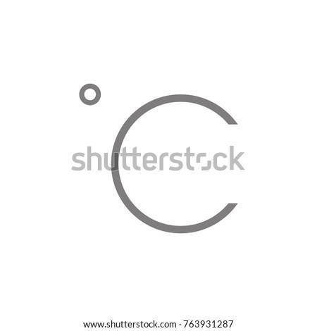 c degree icon web element premium stock photo photo vector