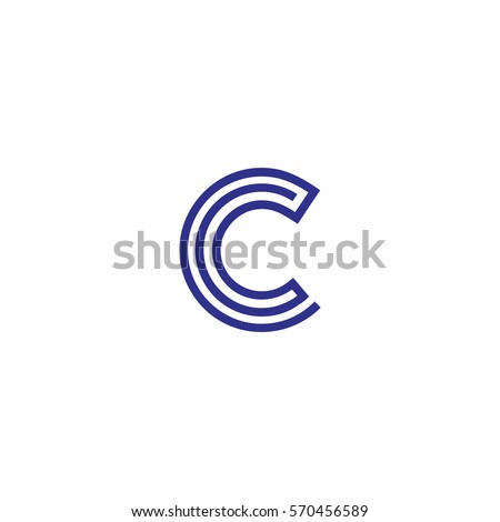 letter c logo designs stock images royaltyfree images