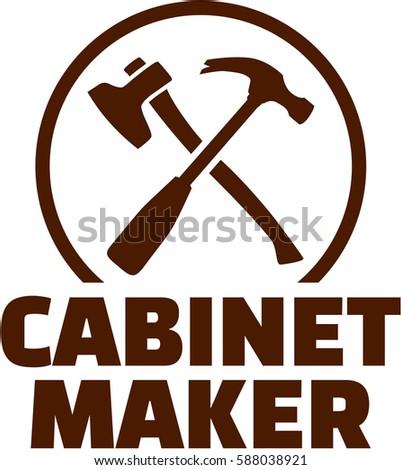 Cabinetmaker Crossed Carpenter Tools Stock Vector 588038921 ...