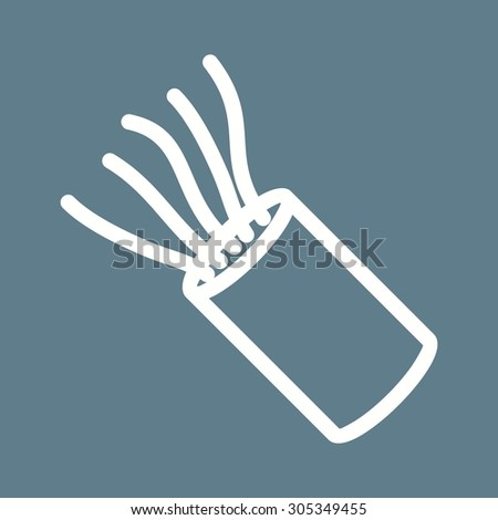 stock vector cable wires wiring icon vector image can also be used for construction interiors and building 305349455 wire icon stock images, royalty free images & vectors shutterstock icon for writing at gsmportal.co