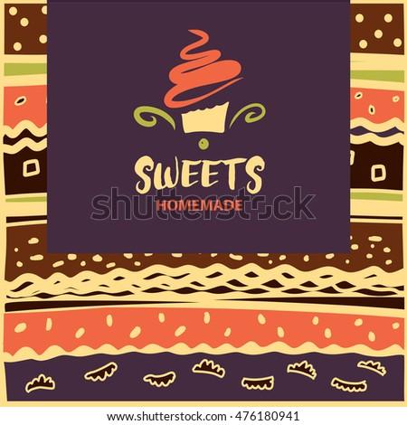 Cake sweet shop logo homemade dessert stock vector 2018 476180941 cake and sweet shop logo homemade dessert element of design for corporate identity reheart Choice Image