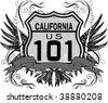 cal 101 - stock vector