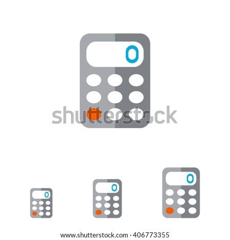 Calculator - stock vector