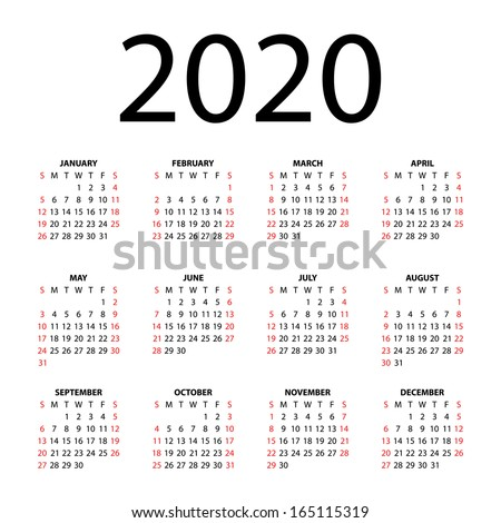 Calendar 2020 Stock Images, Royalty-Free Images & Vectors ...