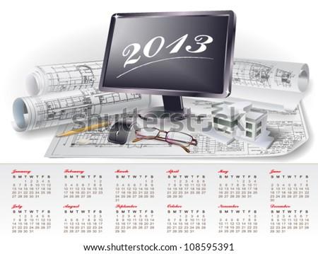 Nahariyani 39 s calendars set on shutterstock for Architectural design elements