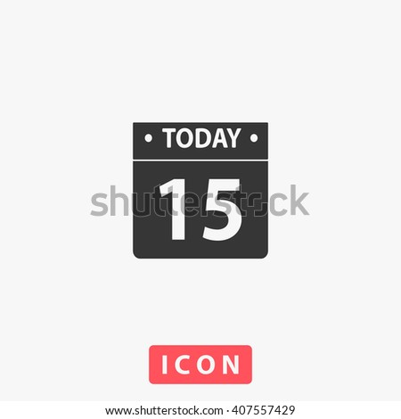 calendar Icon,  - stock vector