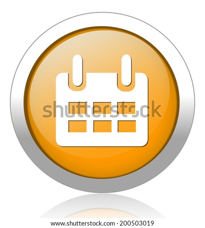 calendar icon date - stock vector