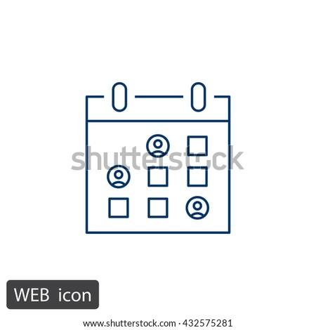 Calendar icon, Tape icon eps10, Calendar icon vector, Calendar icon eps, Calendar icon jpg, Calendar icon picture, Calendar icon flat, Calendar icon app, Calendar icon web, Calendar icon art - stock vector