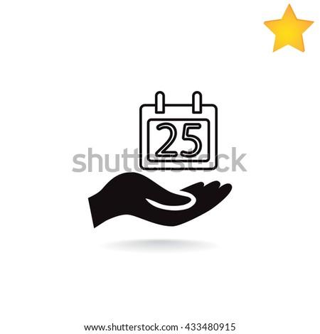 Calendar icon, Tape icon eps10, Calendar icon vector, Calendar icon eps, Calendar icon jpg, Calendar icon picture, Calendar icon flat, Calendar icon app, Calendar icon web, Calendar icon art. - stock vector