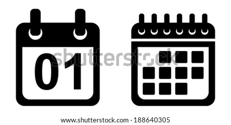 Calendar Date Vector Vector Stock Vector Calendar