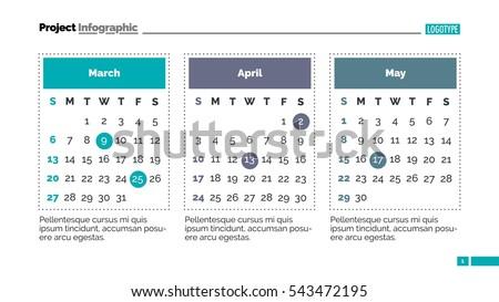 calendar slide