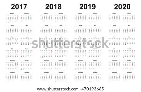 Календарь 2017-2018 года в картинках