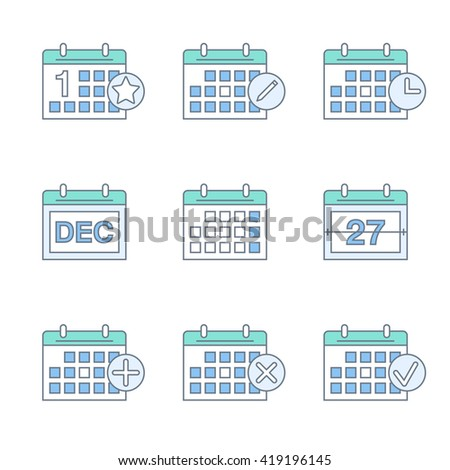 Flip Calendar Stock Images Royalty Free Images Amp Vectors