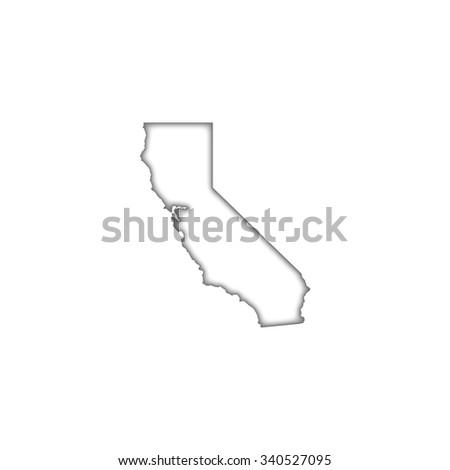 California - stock vector