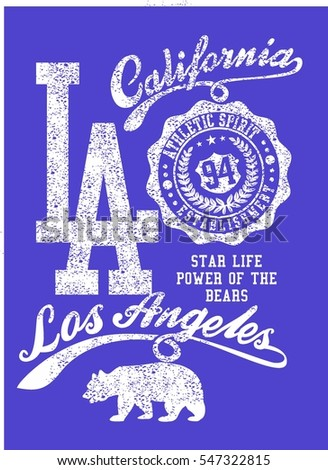 California College style  graphic design vector art