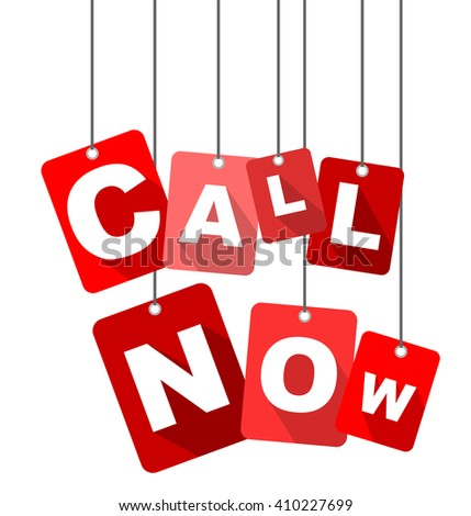 call now, red vector call now, red tag call now, flat vector call now, element call now, sign call now, design call now, background call now, illustration call now, picture call now, call now eps10 - stock vector
