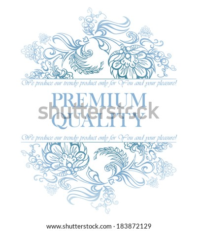 calligraphic floral design elements and page decoration - lots of useful elements to embellish your layout - stock vector