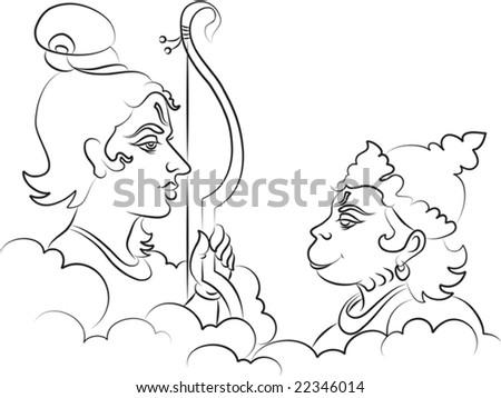 Hindu God Coloring Pages - Democraciaejustica