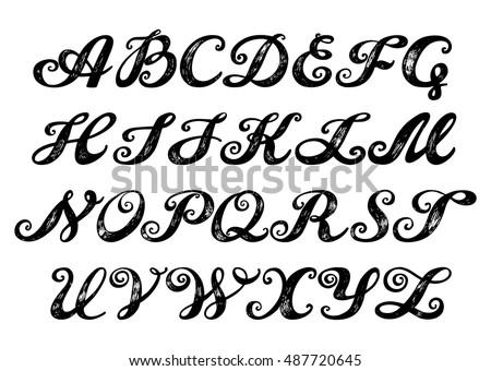 Roman Letters Banque d images d images et d images vectorielles