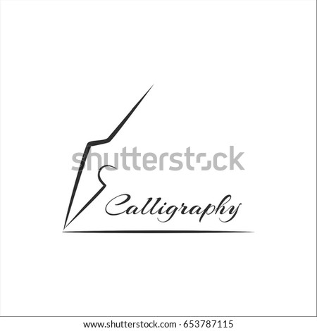 Ornament Calligraphy Photo Frame Stock Vector   Shutterstock