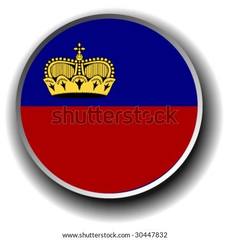 cambodia  flag icon - vector button - stock vector