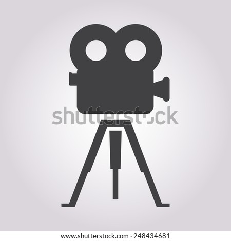 Camcorder icon.