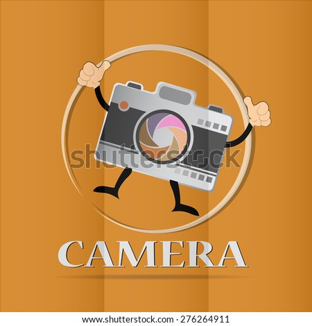 camera and Video icons ,Illustration - stock vector