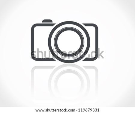 Camera Icon - stock vector