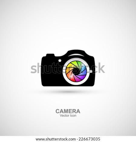 Camera Icon. - stock vector