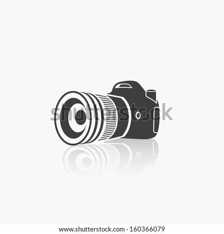 Camera - vector illustration - stock vector
