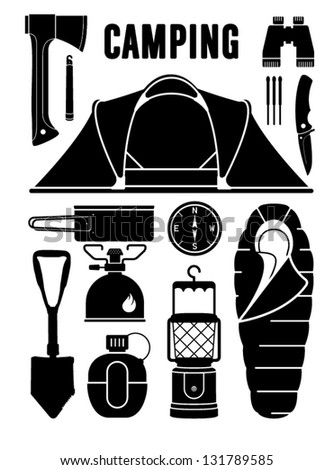 Camping Gear Stock Images Royalty Free Vectors