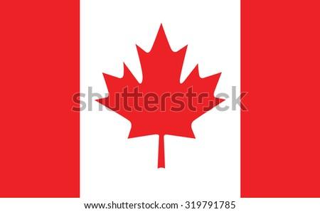 Canada flag. Vector Design EPS10. - stock vector