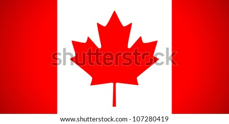 Canada flag. Vector illustration. - stock vector